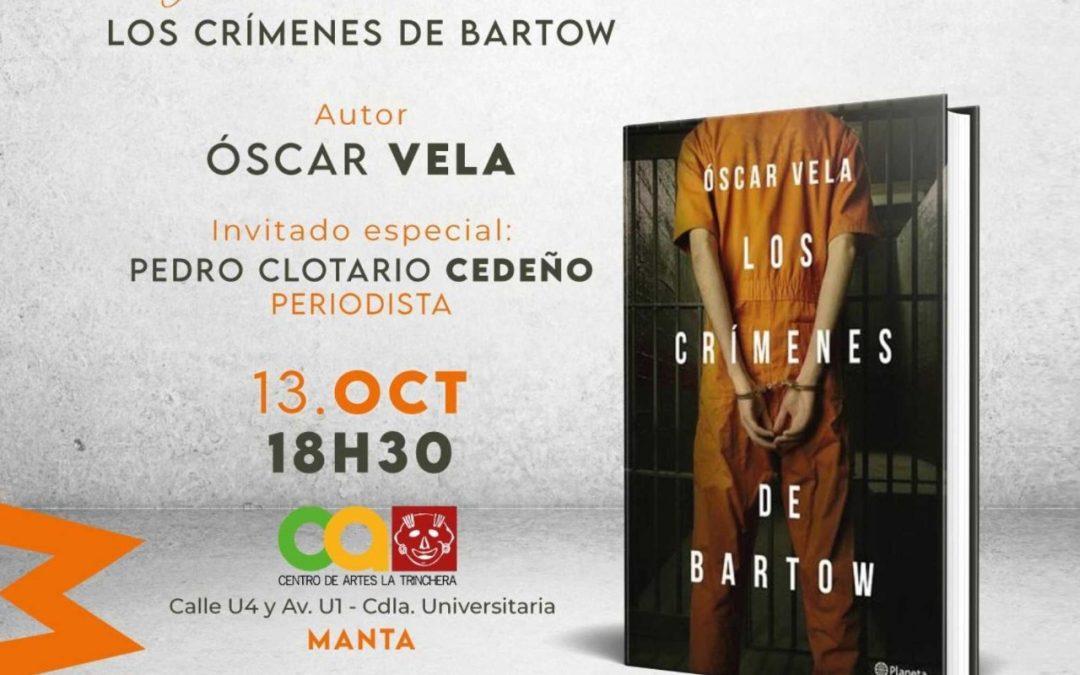 Lanzamiento del libro de Oscar Vela