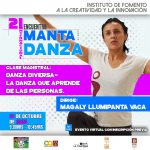 Décimo Taller | Danza Diversa – La danza que aprende de las personas <br> Encuentro Internacional Manta por la Danza 2020