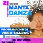 Video Danzas | Viernes 30 y Sábado 31 <br> Encuentro Internacional Manta por la Danza 2020