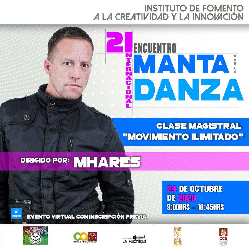 Septimo Taller | Mhares <br> Encuentro Internacional Manta por la Danza 2020