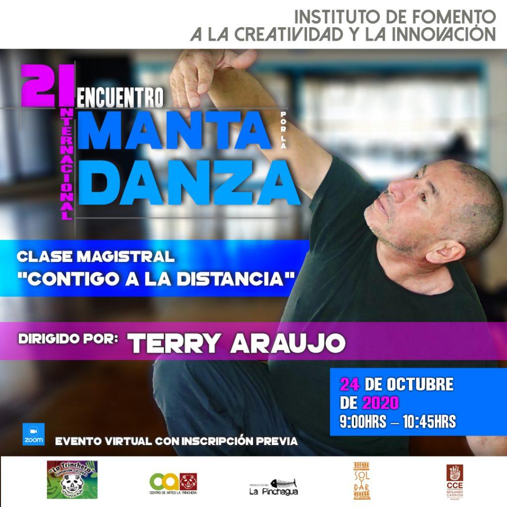 Octavo Taller | Contigo a la Distancia  <br> Encuentro Internacional Manta por la Danza 2020