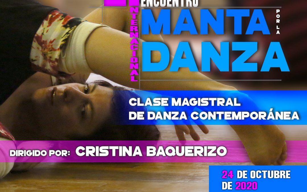 Noveno Taller | Danza Contemporánea   Encuentro Internacional Manta por la Danza 2020