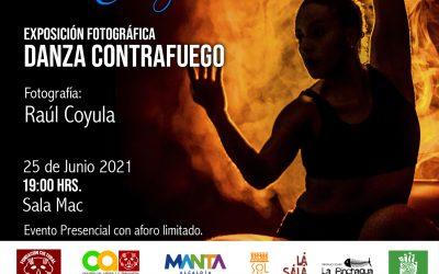 Exposición Fotográfica: Danza Contrafuego  Encuentro Internacional Manta por la Danza 2021