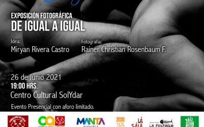 Exposición Fotográfica: De Igual a Igual  Encuentro Internacional Manta por la Danza 2021