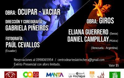 Muestras Escénicas Presenciales  Encuentro Internacional Manta por la Danza 2021